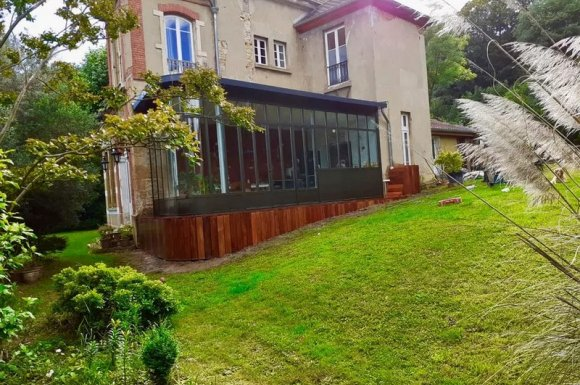 Agrandir sa maison avec une extension en bois Ouest lyonnais