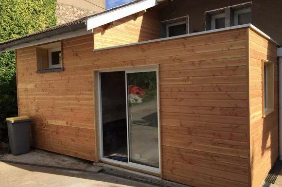Faire construire une maison neuve ossature bois Ouest lyonnais