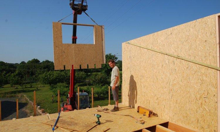 Artecimes Construction maison ossature bois Ouest lyonnais