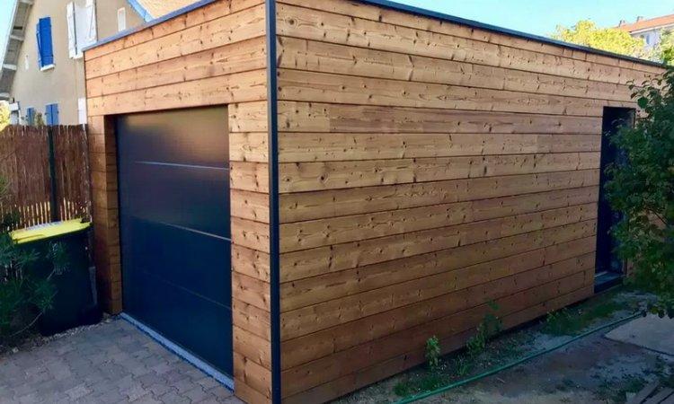 Artecimes Extension de maison en bois Ouest lyonnais